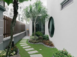 Sutera Chengal semi-D four in one design sdn bhd Country style gardens
