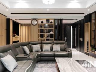 Sutera Chengal semi-D four in one design sdn bhd Living room