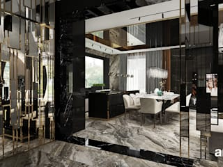Modern corridor, hallway & stairs by ARTDESIGN architektura wnętrz Modern