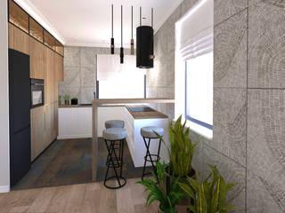 Studio4Design Kitchen units Wood White