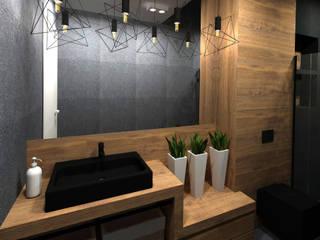 DOM W TYCHACH Nowoczesna łazienka od Studio4Design Nowoczesny