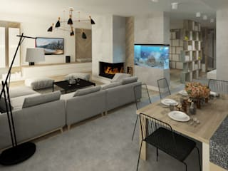 Salas modernas de Studio4Design Moderno