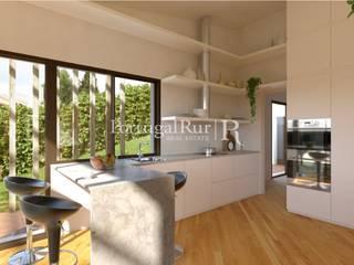 Moradia nova T3, Carcavelos Cozinhas modernas por PortugalRur Moderno