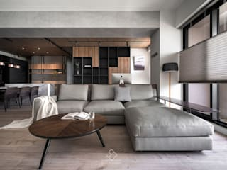 極簡室內設計 Simple Design Studio Salas de estilo moderno