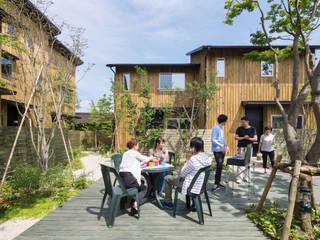環アソシエイツ・高岸設計室 Casas adosadas