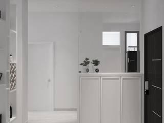 Kempas Condo Design four in one design sdn bhd Living room