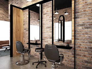 South Key Salon Design four in one design sdn bhd Minimalst style study/office
