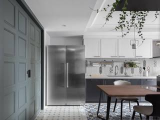 禾廊室內設計 Klasyczna kuchnia