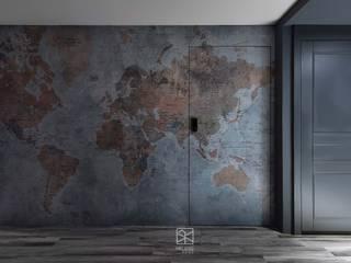 世界地圖壁紙 根據 禾廊室內設計 地中海風