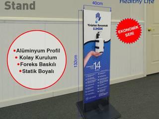 DEZENFEKTAN STANDI Boran Reklam Klasik