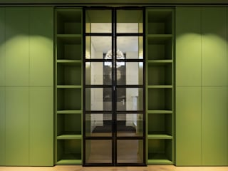 ÈMCÉ interior architecture Glass doors