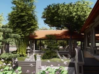 Thiết Kế Nhà Vườn Truyền Thống Nam Bộ Tại Đồng Tháp bởi SGL LANDSCAPE ARCHITECTURE CO.,LTD Đồng quê