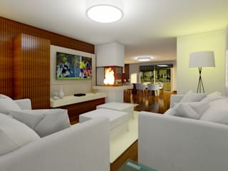 Elaine Hormann Architecture Modern media room