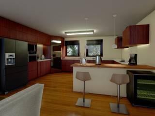 Elaine Hormann Architecture Dapur Modern