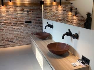 Industriële badkamer Industriële badkamers van De Eerste Kamer Industrieel
