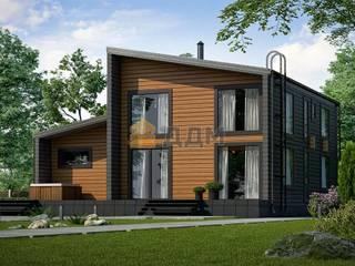 Дом в стиле барнхаус BARN 2-171 от ДДМ-Строй Скандинавский
