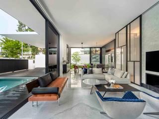 ming architects Soggiorno moderno