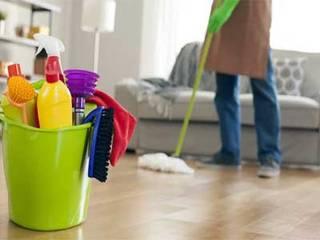 Ev Temizliği Rustik Çalışma Odası Ayeses Group Rustik