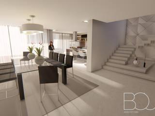 FL Villa Salas de jantar modernas por Sérgio Bouça Moderno