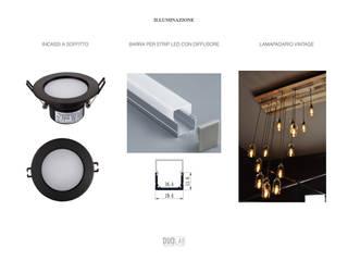 de estilo industrial por DUOLAB Progettazione e sviluppo , Industrial