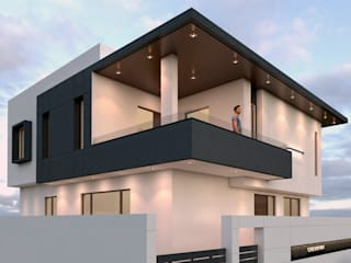 Ravi Prakash Architect Single family home Reinforced concrete White