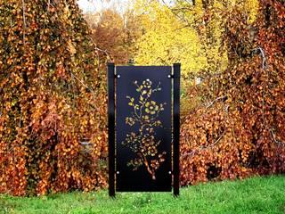 Panele dekoracyjne z metalu do dekoracji ogrodu. od RAGGIO Nowoczesny