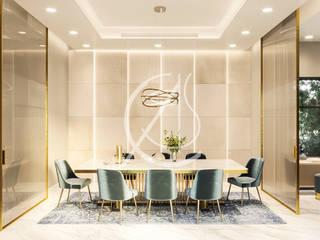 Sala da pranzo moderna di Comelite Architecture, Structure and Interior Design Moderno