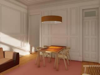 Apartamentos em edifício em reabilitação, Porto Salas de jantar clássicas por José Melo Ferreira, Arquitecto Clássico