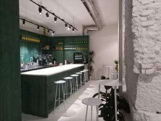 Caffé El Grano Casas minimalistas por Margarida Pablo Minimalista