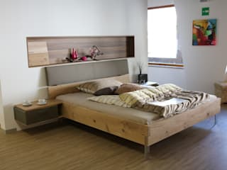 3BHK @ Horamavu Asian style bedroom by Redpost Interiors Asian