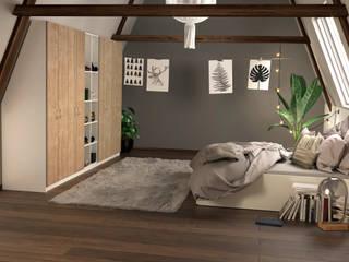 Slaapkamermeubels op maat: modern  door jouwMaatkast.nl, Modern