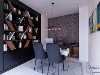 Bureau moderne par Citlali Villarreal Interiorismo & Diseño Moderne
