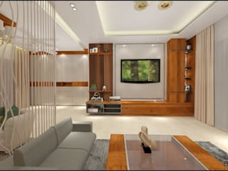 Residential Project Interior Design Minimalist living room by Blackbuck Architects Minimalist