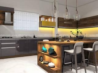 DLIFE Home Interiors ครัวสำเร็จรูป Wood effect
