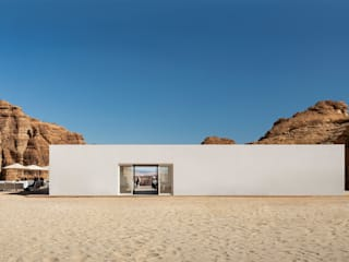 Desert X AlUla Visitor Centre Centros de exposições minimalistas por KWY.studio Minimalista