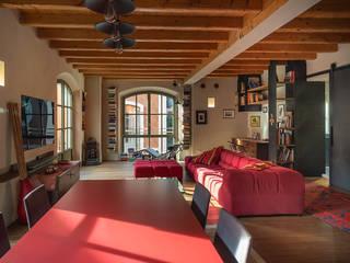studio ferlazzo natoli Eclectic style living room