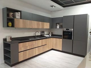 BestMoveis KitchenStorage MDF Grey
