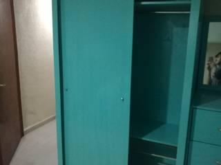 Pablo´S Camera da lettoArmadi & Cassettiere Legno massello Blu