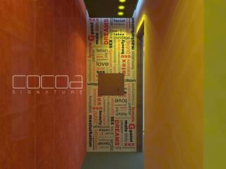 Diseño Interior Motel Hoteles de estilo moderno de COCOA Moderno