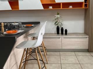 La Central Cocinas Integrales S.A de C.V KitchenBench tops Quartz Grey