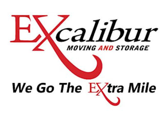 Puertas estilo clásico de Excalibur Moving and Storage Clásico