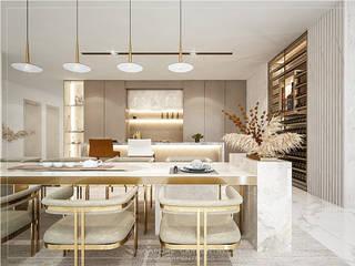 Modern kitchen by Singapore Carpentry Interior Design Pte Ltd Modern