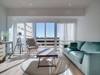 Reforma integral e interiorismo en Doctor Ferrán (Almería) ALTIA Salones de estilo moderno