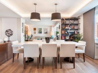 Reforma integral e interiorismo en Avenida de América (Madrid) ALTIA Comedores de estilo moderno