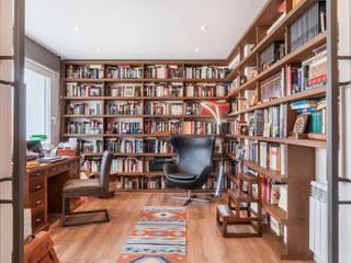 Reforma integral e interiorismo en Avenida de América (Madrid) ALTIA Estudios y despachos de estilo moderno