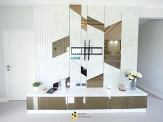 Modern living room by Bcon Interior Modern