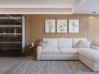 Manuela Di Giorgio | Arquitetura e Interiores Ruang Keluarga Modern