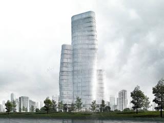 Waterfront Office Park Oleh KDNDA Modern