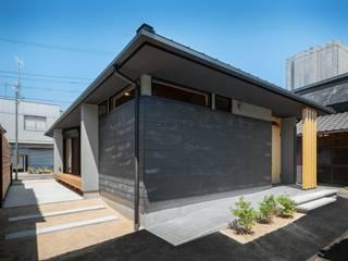一室の家 の Ju Design 建築設計室 和風