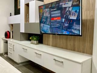 La Central Cocinas Integrales S.A de C.V Living roomTV stands & cabinets